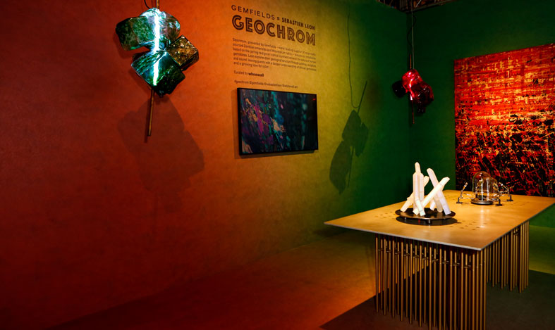 gemfields 'GEOCHROM' by Sebastien Leon