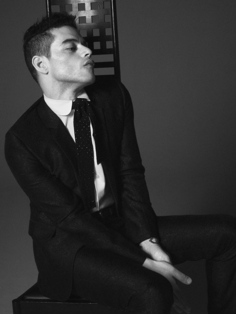 Rami Malek Saint Laurent