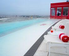 TWA Hotel Pool Chalet