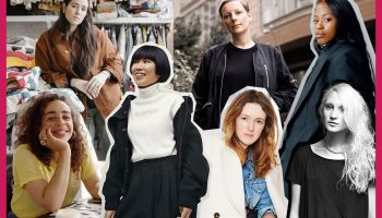 women in men's fashion